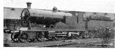 Steam Locomotives of a More Leisurely Era 1897  4-2-2-0 London & South Western Railway