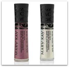 MaryKay Beauty That Counts NouriShine Plus Lip glosses