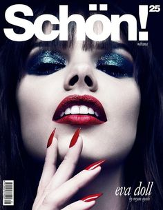 Schon Summer 2014 Cover (Schön Magazine) | Eva Doll by Rayan Ayash