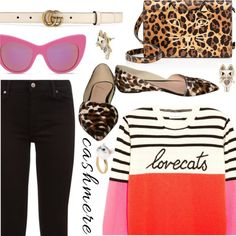 How To Wear Catty Cashmere Outfit Idea 2017 - Fashion Trends Ready To Wear For Plus Size, Curvy Women Over 20, 30, 40, 50
