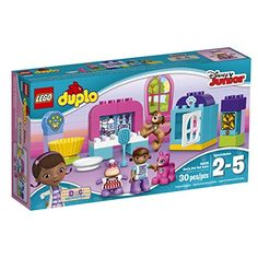 LEGO DUPLO Disney Doc McStuffins Pet Vet Care 10828, Preschool, Pre-Kindergarten Large Building Block Toys for Toddlers - Toys 4 My Kids