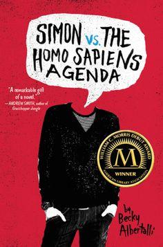 Teen Choice Debut Author Finalist: Becky Albertalli for 'Simon vs. the Homo Sapiens Agenda' (Balzer + Bray)
