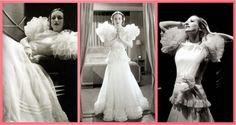 """Mais clássico é impossível! O vestido da socialite Letty Lynton foi primeiro a se tornar um grande sucesso no cinema. O filme costuma ser lembrado entre os norte-americanos como o """"Letty Lynton dress""""."""