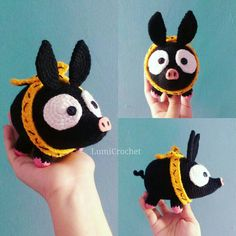 P-Chan Amigurumi Ranma Free Crochet Bag, Cute Crochet, Crochet Crafts, Crochet Baby, Crochet Projects, Sewing Crafts, Knit Crochet, Plush Pattern, Basic Crochet Stitches