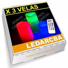 velas led multicolor rgb inalambrica + control remoto oferta