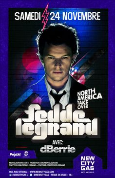 Fedde Le Grand | New City Gas | Montreal | November 24, 2012 | Thanksgiving
