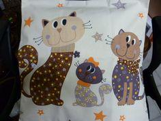 Kočičí povlak na polštář