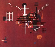 Dull Red (1927) by Wassily Kandinsky