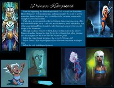 A bit of fun facts about Princess Kida from Atlantis - The Lost Empire