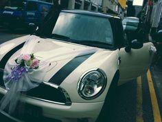 Mini cooper bridal car
