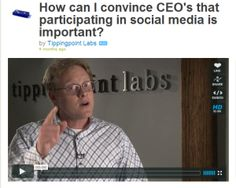 How To Convince A CEO That Social Media Is Important