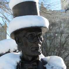It's cold out there - but warm inside of the new Lincoln novel, I Am Abraham by Jerome Charyn
