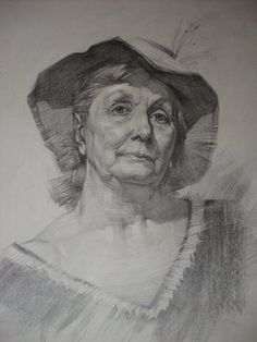 Portrait of the old woman by ~ivany86 on deviantART
