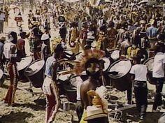 Ole Skool Steel drums!