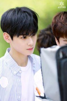 160717 Mini Album Jacket Shooting Behind The Scenes Photos ① Astro Eunwoo, Cha Eunwoo Astro, Lee Dong Min, Astro Fandom Name, Pre Debut, Cha Eun Woo, Sanha, Ulzzang Boy, Dream Guy