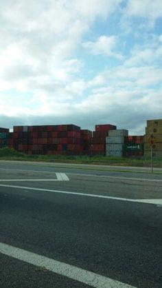 Part of the shipyard at Norfolk, VA