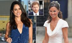 Suits star Meghan Markle, 35, will attend Pippa's big day on May 20, according to People magazine, but she's only been invited to the evening reception and not the ceremony at St Mark's church.