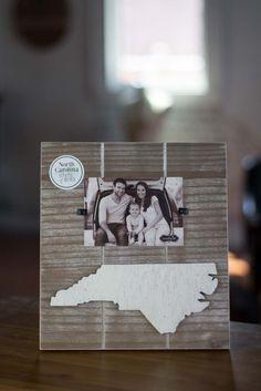 North Carolina State Picture Frame