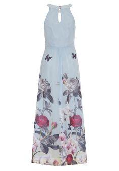 £75.00 Orchid Jardin Print Maxi Dress