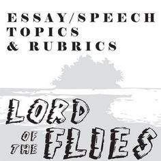 One lord of the Flies essay question