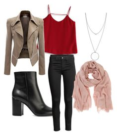 """""""Out in a bar"""" by madina-gazieva on Polyvore featuring Chicwish, Gianvito Rossi, Botkier and Mint Velvet"""