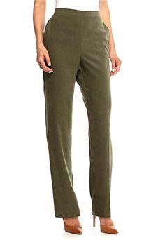 SZ 8 BLACK//WHITE NEW-Alfred Dunner® Wrap It Up Short Herringbone Pants