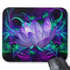 Purple lotus flower and its meaning mouse pad Zazzle_mousepad