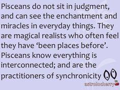 """Pisces:  """"Pisceans do not sit in judgment..."""""""