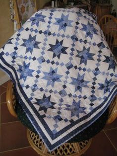 blue and white quilts - Google Search