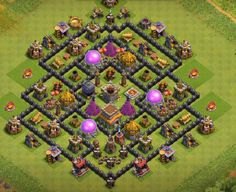 12+ TH8 Farming Bases Links 2020 with Bomb Tower. These Bases can Withstand various enemy attacks in multiplayer battles.