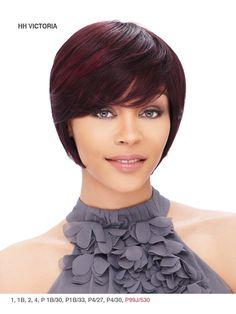 It's a Wig Cap Weave Human Hair Short & Sassy - Victoria