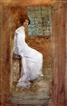23silence:    William Lee-Hankey - Lady in white, 1904