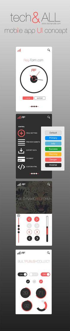 Inspiration Mobile #13 : Ui Kits et Wireframes pour vos applications | Blog du Webdesign