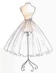 vintage clothes sketches - Google Search