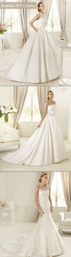Post com os vestidos Pronovias 2013