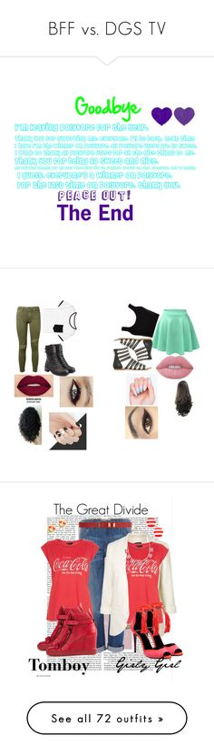 """""""BFF vs. DGS TV"""" by sierra-ivy on Polyvore featuring Calvin Klein Collection, LE3NO, Philosophy di Lorenzo Serafini, Current/Elliott, Lime Crime, Smashbox, New Look, Giuseppe Zanotti, Pierre Hardy and Dorothy Perkins"""