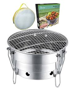 Portable Barbecue Grill And Cooler Combo Outdoor Cooking Heavy Duty  Materials Great For Travel Beach Camping And Parties * ** AMAZON BEST BUY  ** #Bu2026 ...