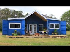 Perfect Beautiful Modern Farmhouse Shipping Container Home - YouTube #containerhomes