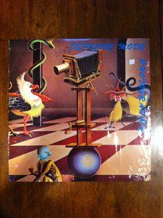 Depeche Mode Vinyl Photographic Super-Rare UK Release 1985 Live 2x LP Mute #DancePopElectroSynthEuropop