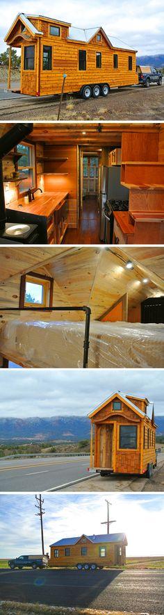 The 297 sq ft Valencia tiny house