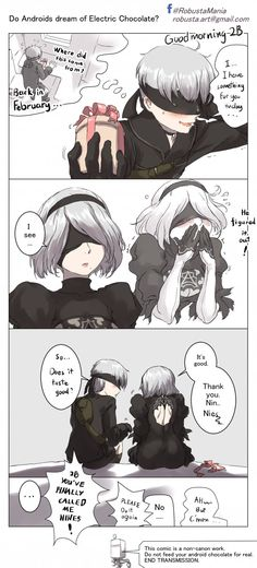 Late White Valentines for Nier Automata fans
