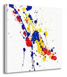 Splash Paint - Obraz na płótnie
