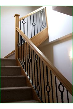 Exceptionnel Moreton Barn Oak And Metal Staircase Staircase Metal, Staircase Ideas, Metal  Spindles, Banisters