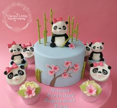 Panda Cake - cake by The Clever Little Cupcake Company