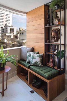 51 Cozy Apartment Balcony Decorating Ideas That Looks Awesome - Would you not fancy a crisply decorated balcony that can be a great entertaining, cozy place midst verdant plants and shimmering sunset? Behold and lo. Apartment Balcony Decorating, Apartment Balconies, Cozy Apartment, Scandinavian Apartment, Apartments Decorating, Small Balcony Design, Small Balcony Decor, Balcony Ideas, Balcony Garden