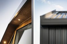 Idea Ehouse - Fairlands by ICR Studio Ltd in Auckland, New Zealand Auckland, New Zealand, Terrace, Facade, Blinds, Architecture Design, Garage Doors, Construction, Windows