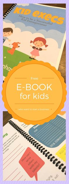 Teaching Kids to be entrepreneurs is easier than you might think! #hstips4moms #freeebook