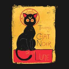 Chat Noir de la Lune