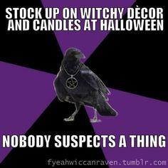 Fuck Yeah Wiccan Raven