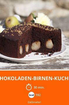Schokoladen-Birnen-Kuchen - smarter - Kalorien: 192 kcal - Zeit: 30 Min. | eatsmarter.de